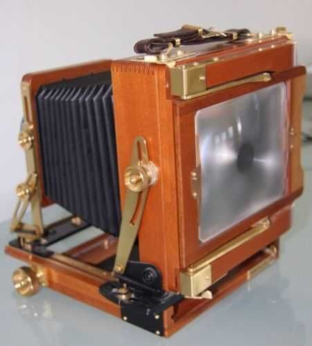 WISTA Field Large Format 4 x 5 Field Camera, Cherry Wooden
