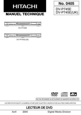 Hitachi No 0405F Manual by download Mauritron #225310