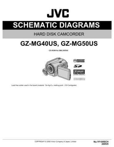 JVC GZ-MG50US Service Manual. On by download Mauritron #270911