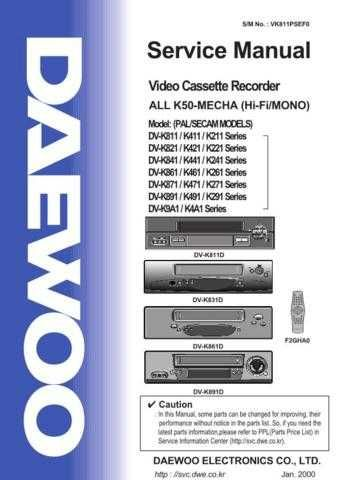 Daewoo. 24_1 on Manual by download Mauritron #212339