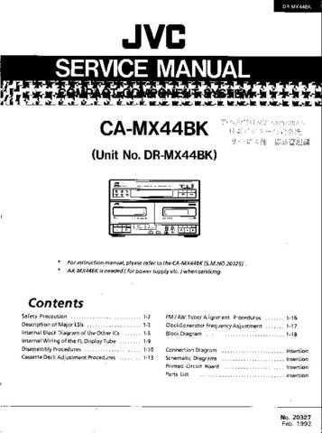 Sharp DRMX44BK Service Manual by download Mauritron #208766