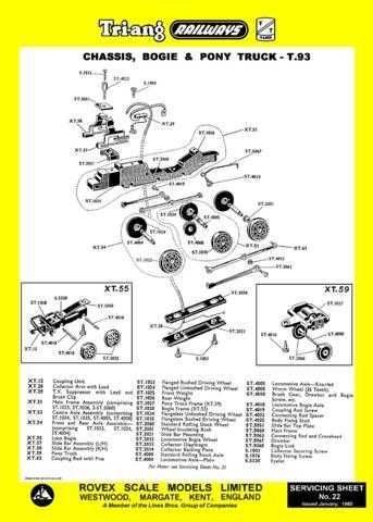 Triang Tri-ang No.022 Chassis by download Mauritron #206221