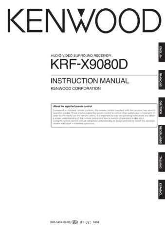 Kenwood krf-x9080d by download Mauritron #222818