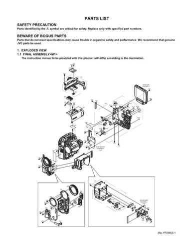 JVC GR-X5US part Service Manual Schematic Circuit. by download Mauritron #270872