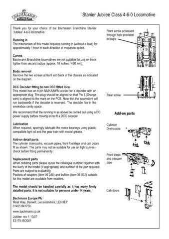 Bachmann Stanier Jubilee Class 4-6-0 Information by download Mauritron #206130