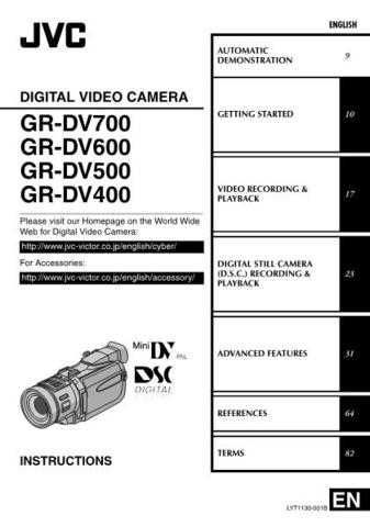 JVC GR-DV500 Service Manual by download Mauritron #273214