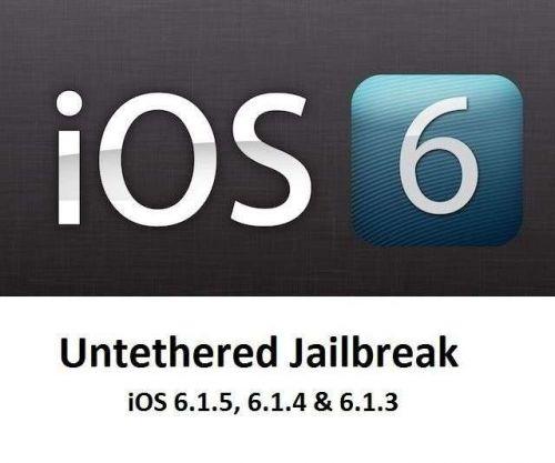iOS 6.1.5, 6.1.4 & 6.1.3 UNTETHERED Jailbreak IPHONE 4 4S 5 5S 5C+ EXTRA APP