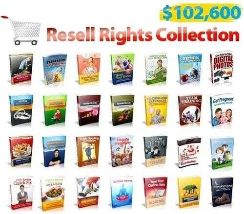 397 Ebooks with resell rights + 10740 PLR Articls + TV Radio Software