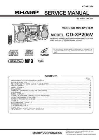 Sharp CD-DV757W Part 2 Technical Information by download Mauritron #232767