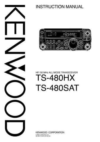 Kenwood TS-480HX Operating Guide by download Mauritron #223014