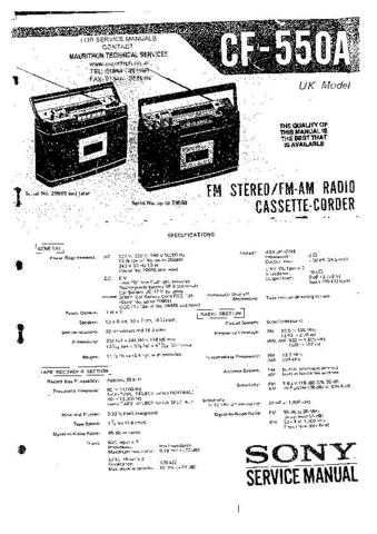 SONY DCR-TRV103 Technical by download #104863
