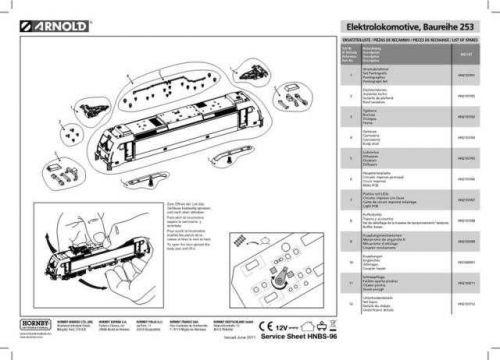 Arnold No.096 Baureihe 253 HN2107 Views etc by download Mauritron #206009