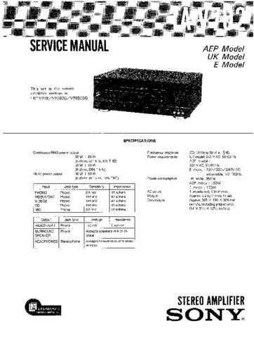 Sony TA-NR1 Service Manual by download Mauritron #233358