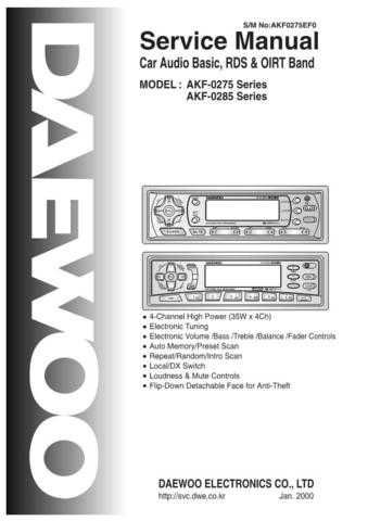 Daewoo. AKD-80C_2. Manual by download Mauritron #212510