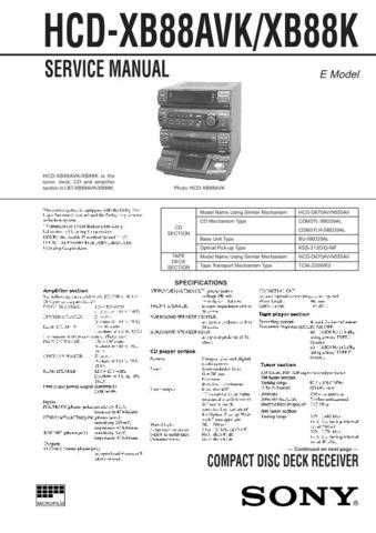 SONY HTC-V5550 Technical by download #104984