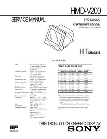 SONY HTC-W555 Technical by download #104986