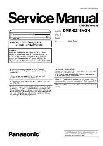 Panasonic CQ-R121SEUC Service Manual with Schematics by download Mauritron #266460