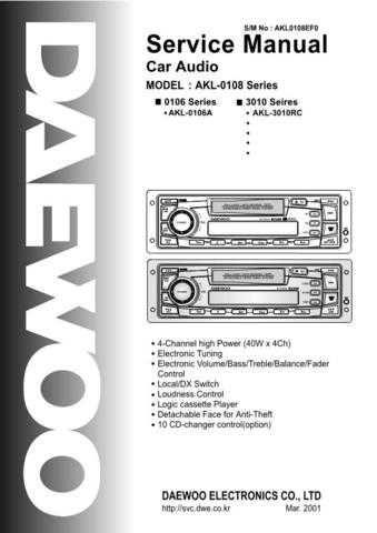 Daewoo. SM_AMI-316L_(E). Manual by download Mauritron #213248