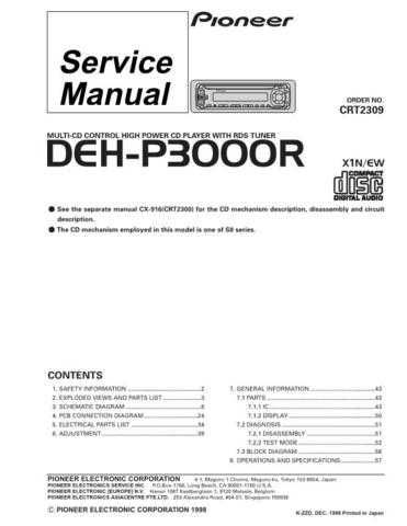 Pioneer C2309 Manual by download Mauritron #227194