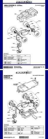 Scalextrix No.163 Mini Cooper S 1275cc by download Mauritron #206346
