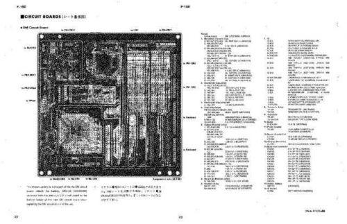 Yamaha P120 P120S BLOCK Manual by download Mauritron #258389