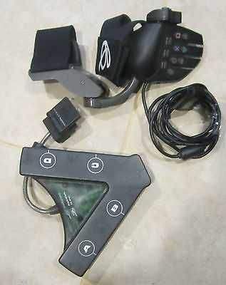2 Playstation 1 2 Accessories Glove Controller Great Condition
