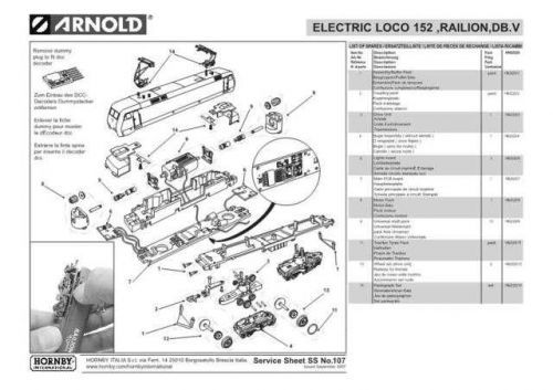 Arnold No.107 152 Railon DB.V HN2020 Views etc by download Mauritron #206010