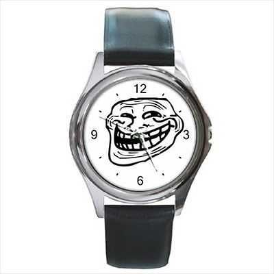 Troll Guy Internet Meme Comic NEW Round Wrist Watch