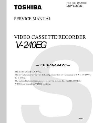 V241UK Technical Information by download #116308