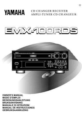 Yamaha EMX-100RDS Operating Guide by download Mauritron #247854