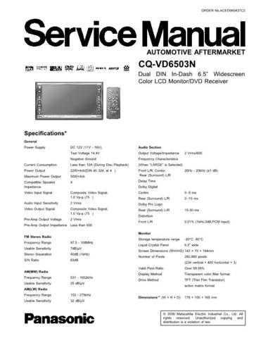 Daewoo sm00cqvd6503n Manual by download Mauritron #226753