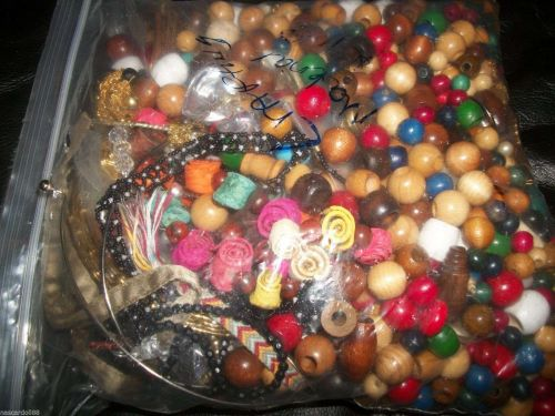 Jewelry crafting beads/material almost 4 lbs