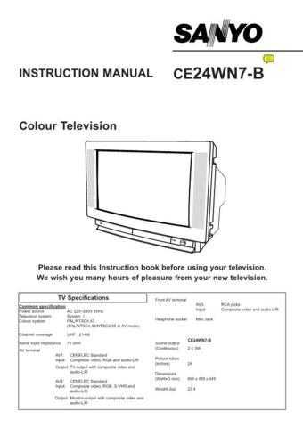 Fisher CE24WN7-B VER2 Service Manual by download Mauritron #214468