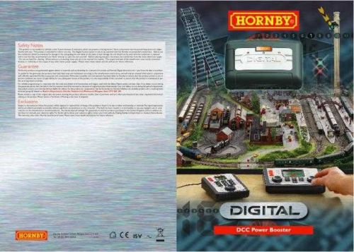 Hornby R8239 DCC Booster English Only Information by download Mauritron #207196