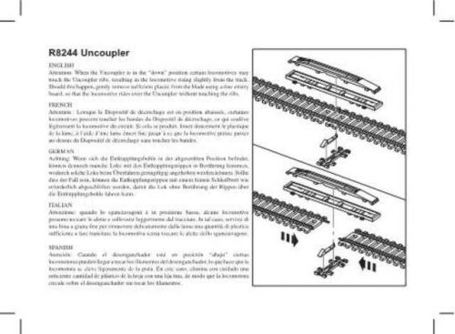 Hornby R8244 Uncoupler Information by download Mauritron #207199