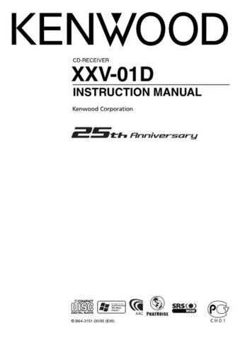 Kenwood B64-3151-00 Operating Guide by download Mauritron #220913
