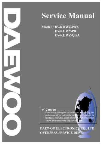 Daewoo. [09.1] FR27010030 on Manual by download Mauritron #212216
