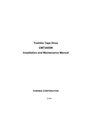 Toshiba CMT3405W Service Manual by download Mauritron #238459