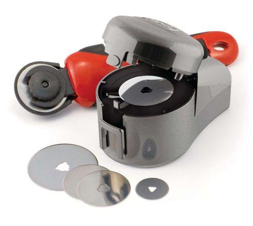 TrueSharp Power Rotary Blade Sharpener Kit Shop Garage Tools Industrial Home New