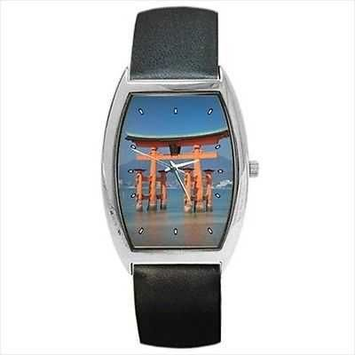 Japan Great Torii Gate Miyajima Photo Wrist Watch