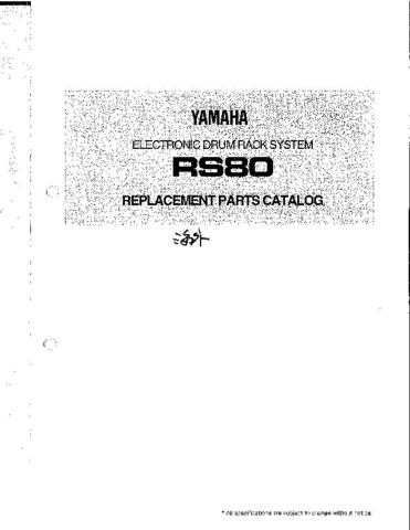 JVC RS80 Service Manual by download Mauritron #255262