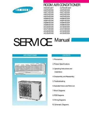 SAMSUNG AX074VE-DOK AIRCON W by download #106934