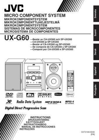 JVC UX-G60[2] Service Manual by download Mauritron #272793