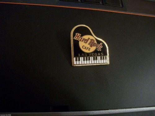 Hard Rock Cafe Collecible LAS VEGAS BLACK PIANO lapel/hat pin