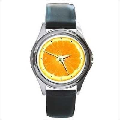 Orange Fruit Slice Florida FL Unisex New Wrist Watch