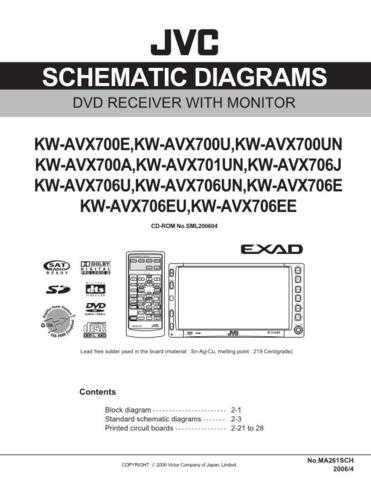 JVC KW-AVX706U Service Manual. On by download Mauritron #271778