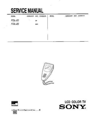 Sony FH-414 Service Manual by download Mauritron #240730