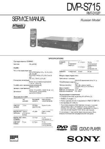 SONY DXC1820P CAMCORDER SERVICE MANUAL Technical Info by download #104899