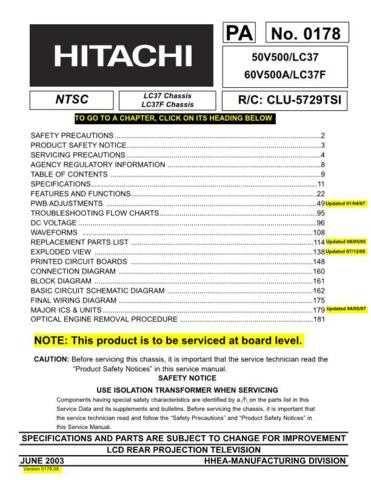 Hitachi 60V500A by download Mauritron #263221