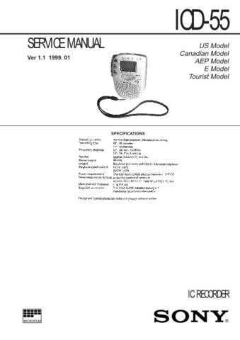 SONY ICF-C470 Technical by download #104995